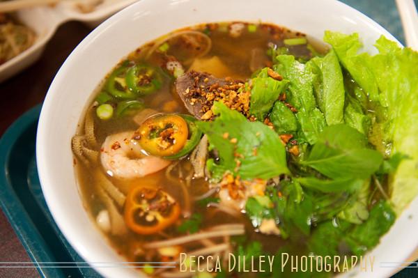 St Paul Hmong Village food - Minneapolis Wedding Photographer Becca