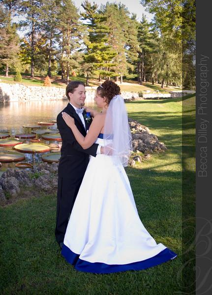 Emily matt st paul wedding on a showboat becca for Wedding dresses st paul mn