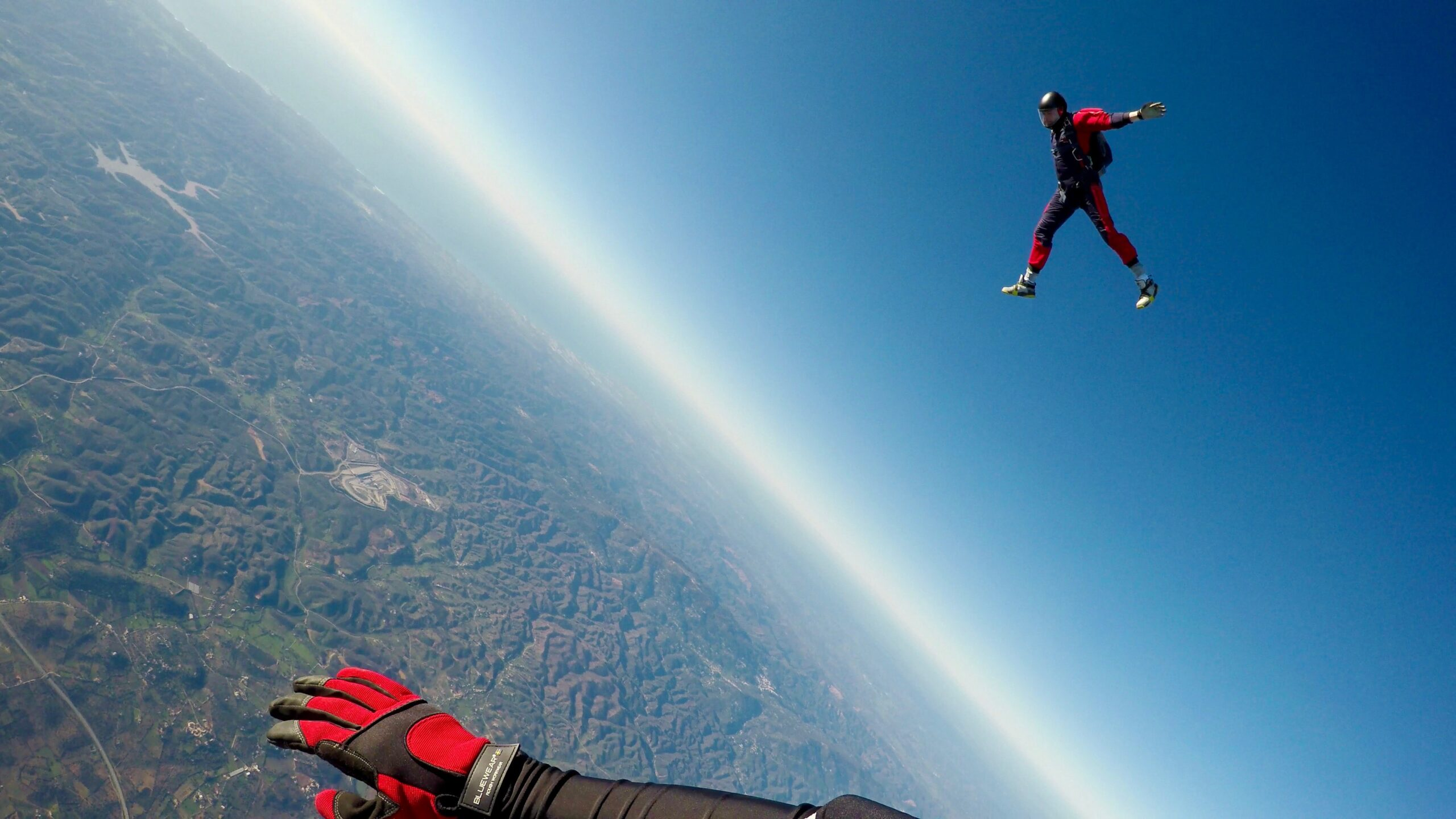 Free Fall With A Skydiving Lesson In California
