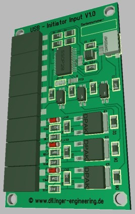USB Initiator Input1