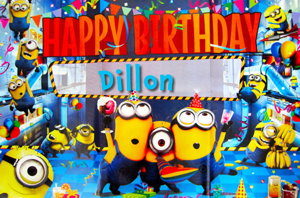 Happy BIrthday Dillon