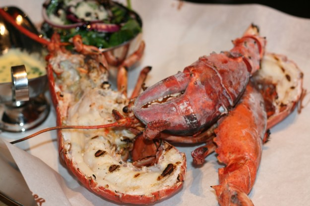 Mummy's whole Lobster.