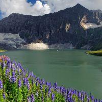 Dowarian Lake in Azad Kashmir, Pakistan