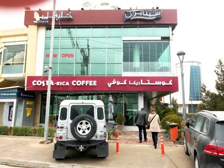 A coffee shop