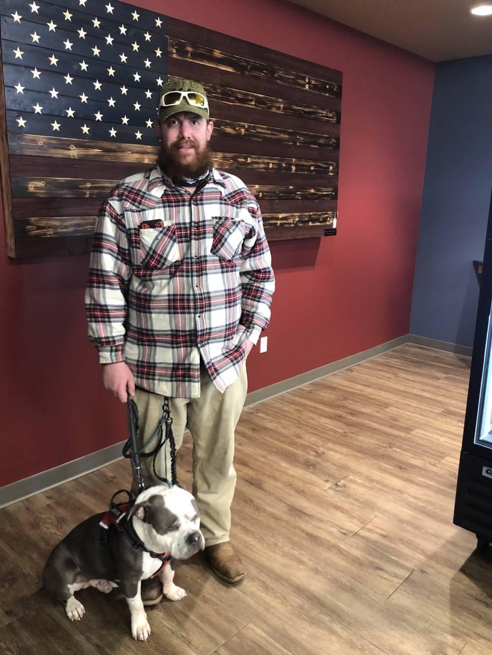Proud Service Dog