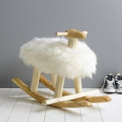 Unisex kids room Boho notonthehighstreet rocking sheep