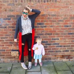 school run fashion instagram edition Dilly and the Boo dresslikeamum zoe