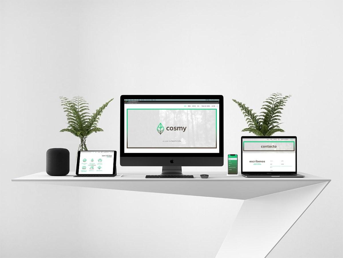 Desarrollo web para consultoría medioambiental