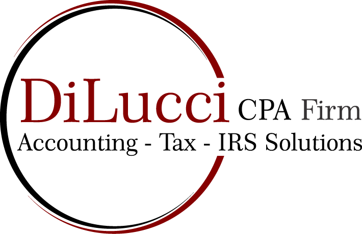 Bookkeeping For Small Business | DiLucci CPA Firm | Accounting - Tax - IRS Solutions | Dallas TX Logo