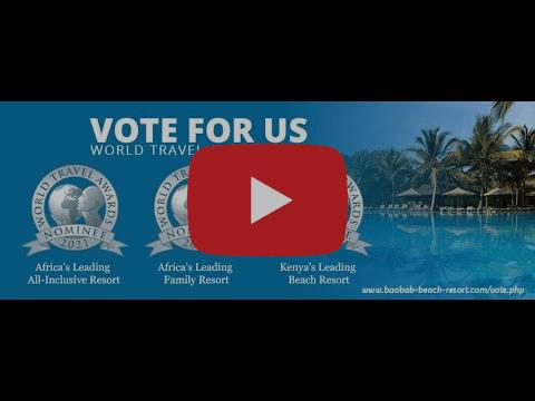 Baobab Beach Resort & Spa is a World Travel Awards 2021 Nominee.