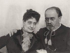 Self-Portrait with Alexandrine