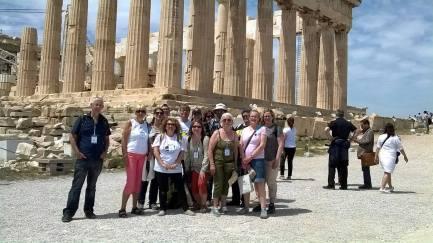 Ξενάγηση στην Ακρόπολη - Guided tour in Acropolis