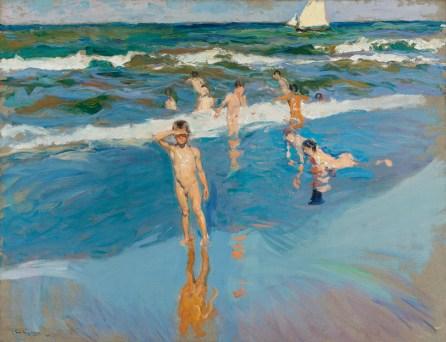 Παιδιά στην παραλία της Βαλένθια 1908