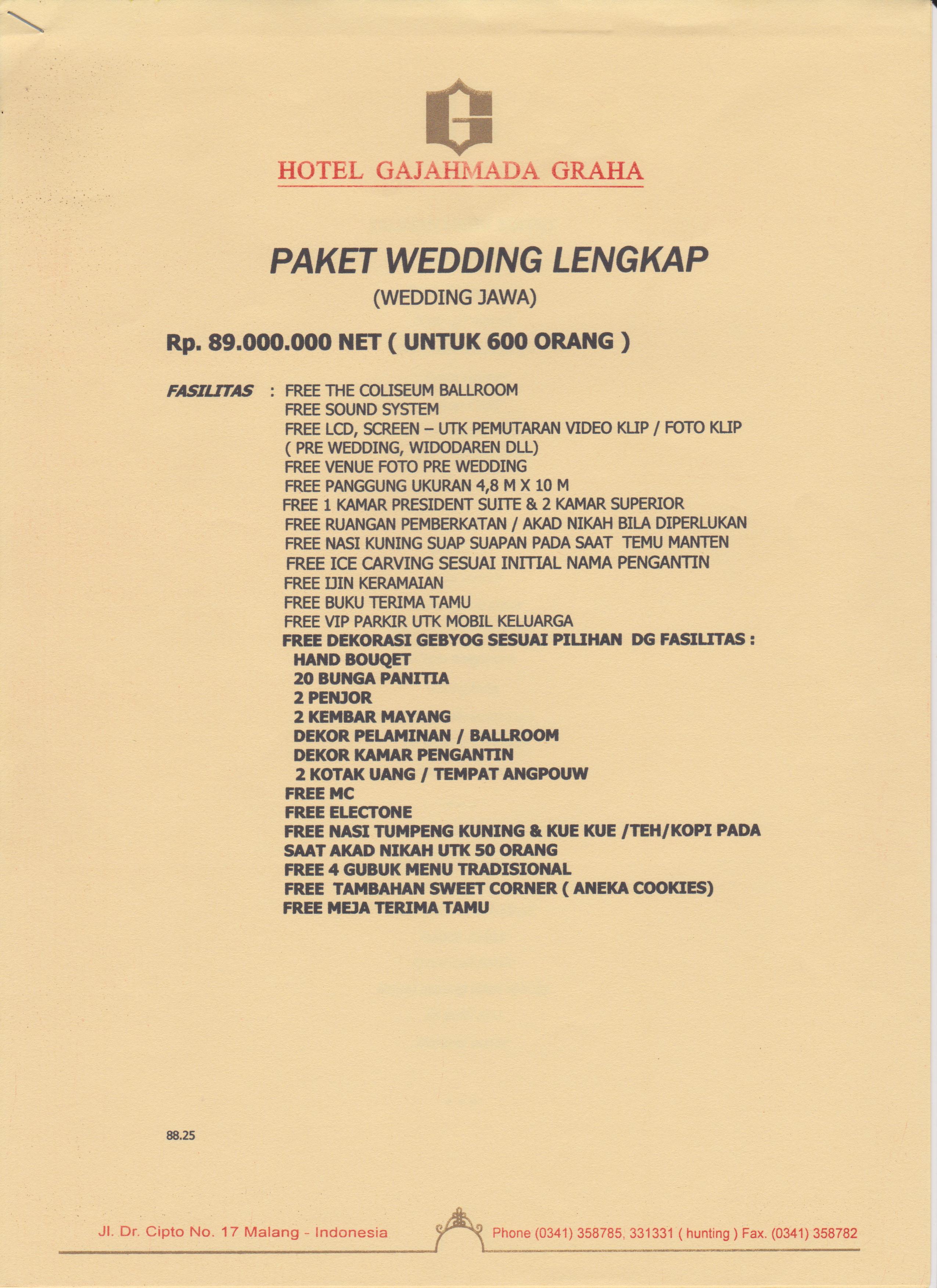 Paket Wedding Hotel Jakarta 2018 : paket, wedding, hotel, jakarta, Wedding, Preparation, (Part, Start), Dimas
