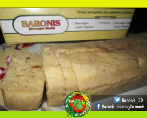 Baronis (barongko manis)