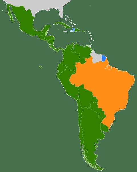 Amerika Latin Adalah Sebutan Untuk Negara Yang Berada Di Kawasan : amerika, latin, adalah, sebutan, untuk, negara, berada, kawasan, Mengapa, Negara-Negara, Benua, Amerika, Bagian, Selatan, Dijuluki, Latin?, Dimas, Suryo's