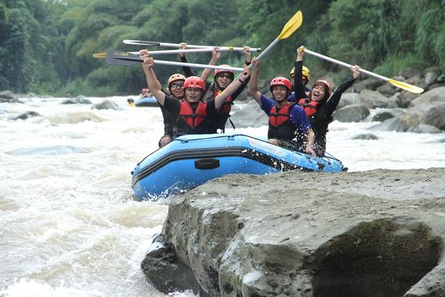 Arung Jeram sungai Progo, Magelang