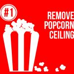 1 popcorn ceiling