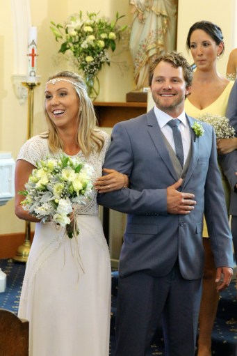 The Happy Couple - Alec (Our Nephew) and Candice