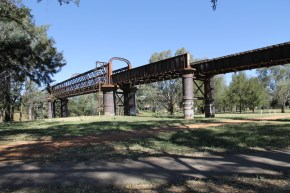 Old Rail Bridge (Dubbo NSW)