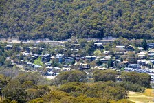 Thredbo As Seen From The Chairlift (NSW)