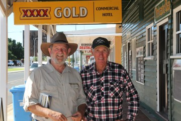 Barcaldine - Chance Meeting With John (An Old Friend)