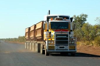 B-Triple Zinc Ore Truck (Qld)
