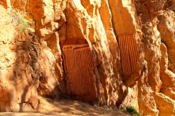 Emily Gap - Aboriginal Rock Art (NT)