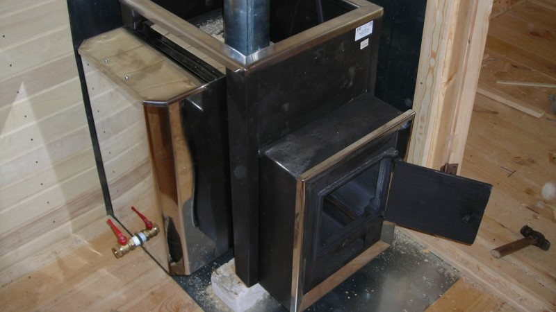 Steel stoves.