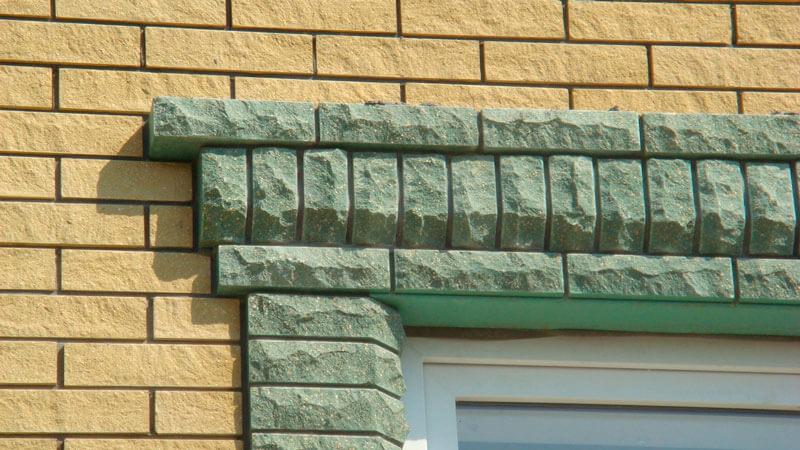 декоративный облицовочный кирпич для фасада