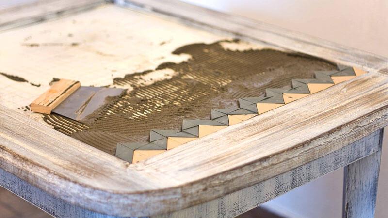 кухонной стол реставрация
