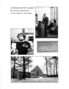 AMERICAN BAPTIST EXTENSION CORPORATION (ABEC) ANNUAL REPORT 1988
