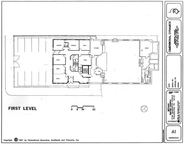 Lower Entrance Level of Proposed Addition