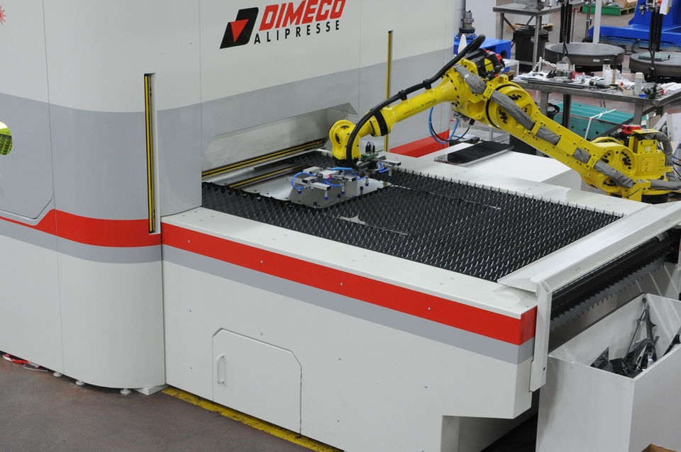 Coil Fed Laser Cutting System Dimeco