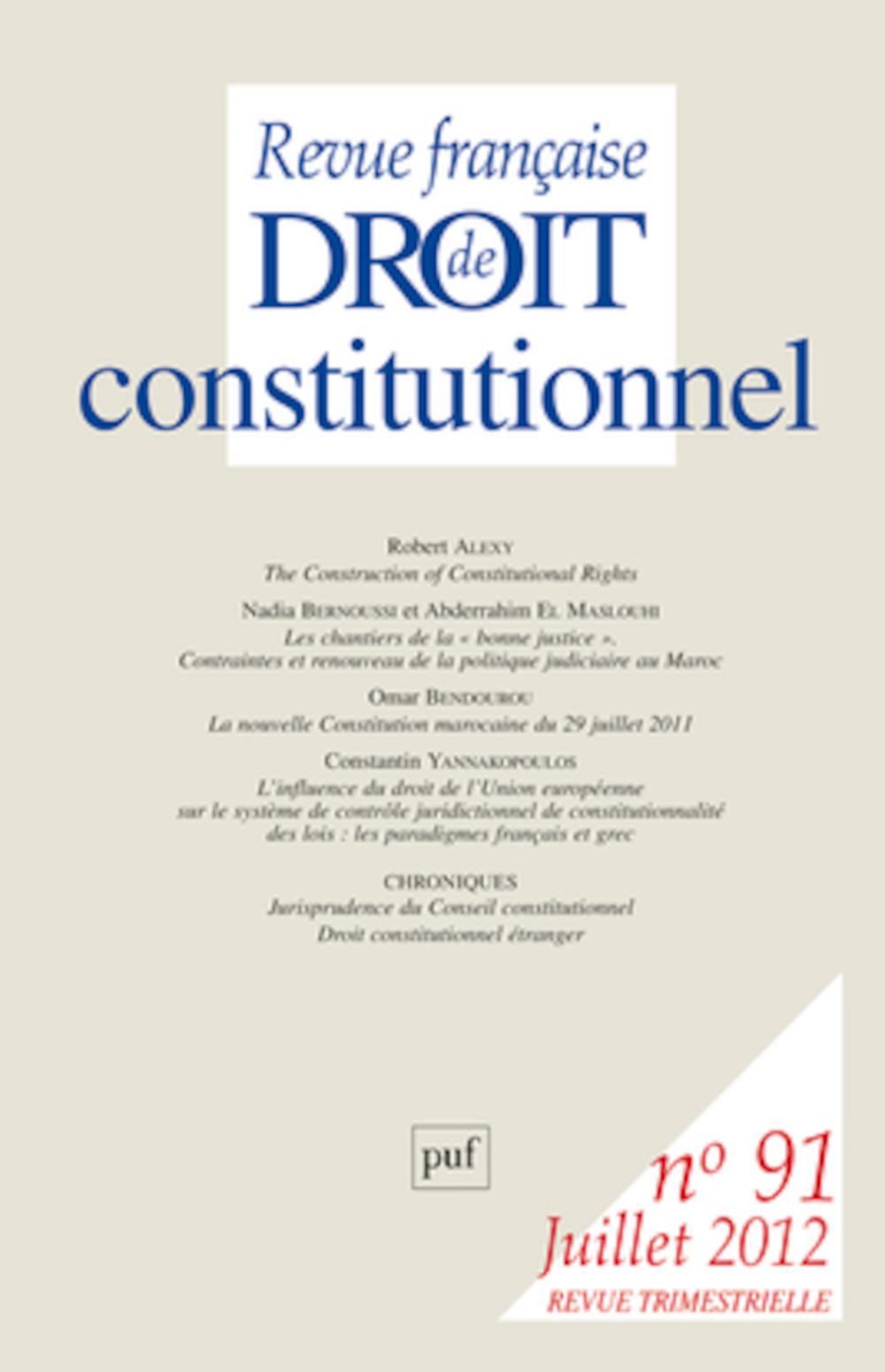 Revue Française De Droit Constitutionnel : revue, française, droit, constitutionnel, Revue, Française, Droit, Constitutionnel,, Fiche, Diffusion, Dimedia