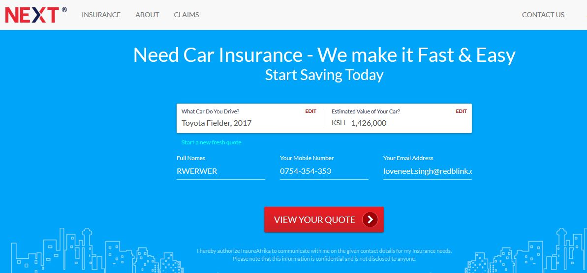Next Insurance - Experience the NEXT Level of Insurance In Kenya