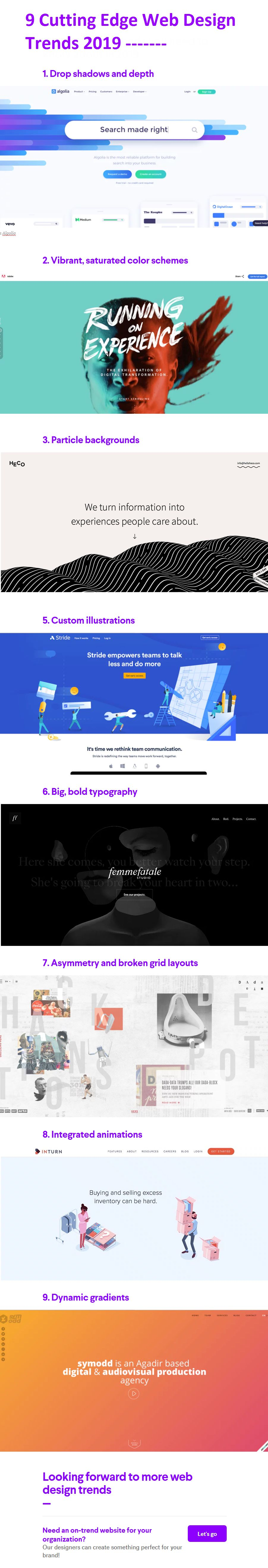 10 Top Web Design Trends In Kenya For 2019 You Can T Ignore