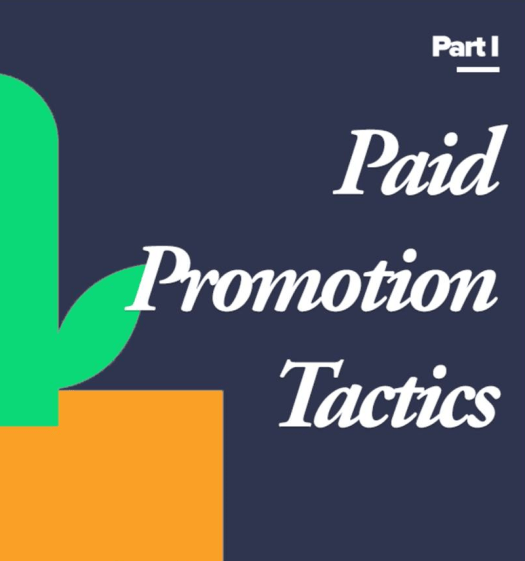 paid promotion tactics