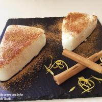 Panna Cotta de arroz con leche