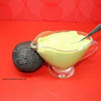 Mayonesa de aguacate sin huevo