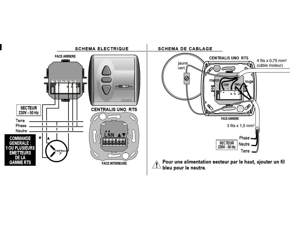 Installation Electrique Transmitter Emetteur Pour Volet Roulant Somfy Inis Rts Commande Kth Law Co Il