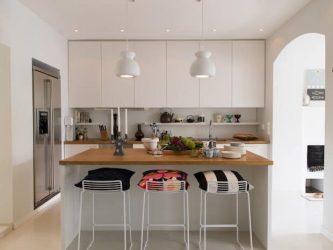 Barras de desayuno para cocinas pequeñas: la solución top Dimensi on