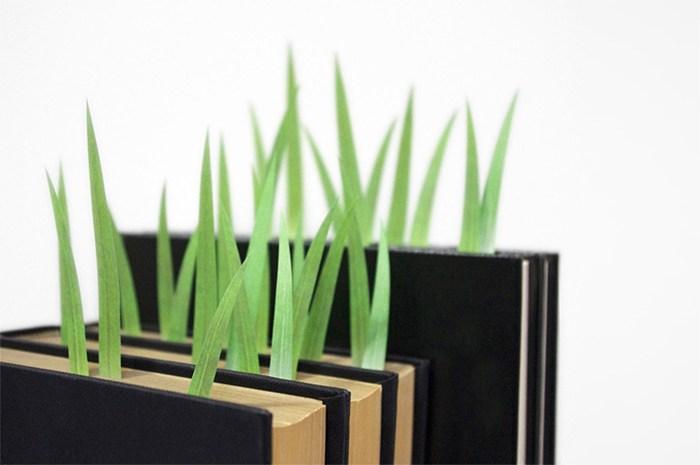 Penanda Halaman Buku Bentuk Rumput