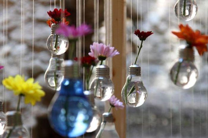 Pot bunga bergantung