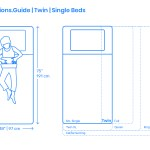 Twin Beds Single Bed Dimensions Drawings Dimensions Com