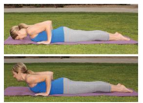 Yoga Low Cobra Pose