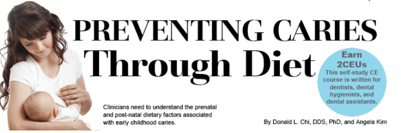 Preventing Caries Through Diet Dimensions Of Dental Hygiene
