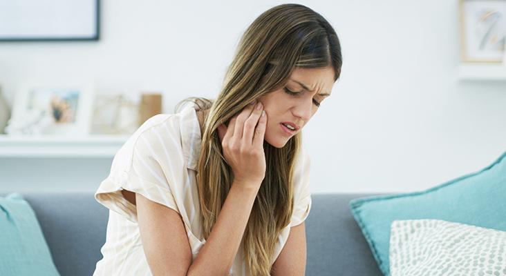 Cropped shot of an attractive woman experiencing a toothache