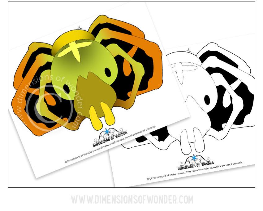 free printable spider mask, free printable masks for kids, free printable masks for children, masks to color