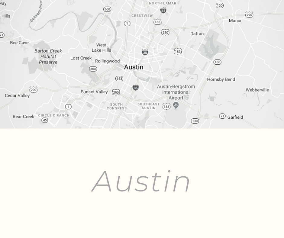Austin history and origin of the name and place